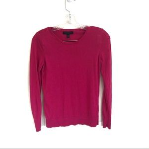 Banana Republic Silk Cashmere Crew Neck Sweater